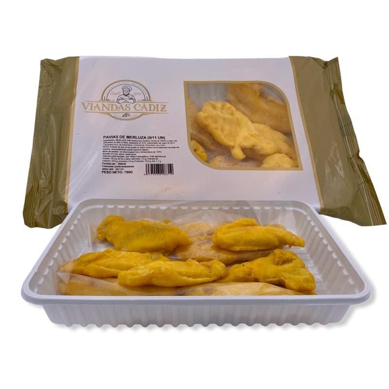 Pavías de merluza caja 2,25 kg